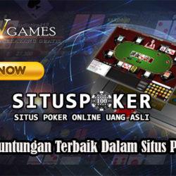 Tawaran Keuntungan Terbaik Dalam Situs Poker Resmi
